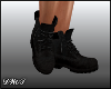 D- Dirty Black Boots