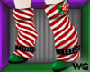 Peppermint Elf Shoes