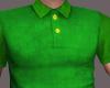 men's green polo