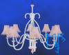 )L( Pnk Pearl chandelier