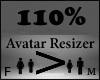 110% AVATAR SCALER
