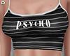 D. Psycho Tee Black