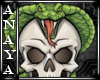 A+ Snake And Skull