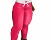 kids pink leather chubby