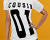 Cousin 01 Shirt White F