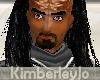 Male Klingon Hair Black