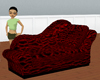 Leopard Couch w/ poses