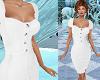 TF* Classy White Dress