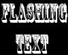 Flashing Sign