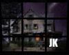 Haunted House raining