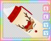 Kids Reindeer Sippy