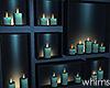 Rain Wall Candles