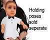 Baby Boy Adam Hold w/tie