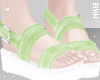 n| Sandals Lime