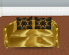 LB59s Gold Loveseat