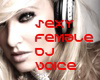 sexy female DJ voice