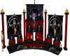 gothic vampire throne