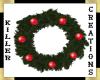 (Y71) Lrge Xmas Wreath