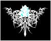 (SDJS) rose back tatoo