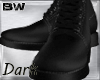 Black Leather Boots 4KD