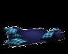 Blue Plaid Cuddle Rug