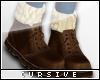 |C| Boots N Socks Brn