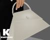White Trapeze Bag
