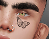 Butterfly Tatts face
