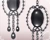Gothic Wedding Earrings