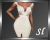 (SL) Spring Cream Dress