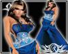 Elegant blue XXL