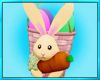 Womens Bunny Basket
