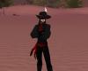 Pirate  Black & red