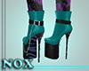 Zebra Stiletto Boots