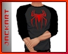 Spiderman Red Gray Tee