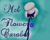 !M-Flower Cabaret Hat