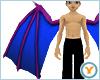Fld Dragon Wings: PrpBlu
