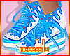 ! Blue Candy Sneakers