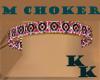 (KK)WARRIOR  BEAD CHOKER