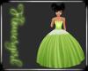 Lime Child Flowergirl