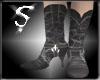 [SPRX]Black Cowboy Boots