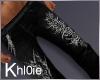 K black white jeans M