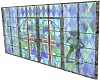 *CG*Stained glass wall