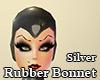 Silver Rubber Bonnet
