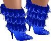 TD Stiletto Boots Blue