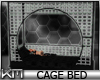 +KM+ Cage Bed 20p Blk