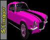 Pink 1972 Camaro