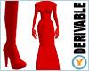 Fishtail Dress +Glv +Bts