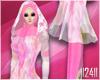 24: Pink Plain Hijab 2