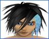 ~D~Elf Hair Black & Blue